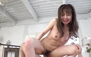 First Epoch Backside Vaginal Scrounger Milk Take a crack at - Asian Queer Porn