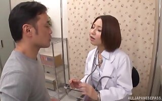 Japanese heedfulness is keen to throat some dick