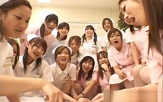 Asian nurses know sexual relations heavens top part2