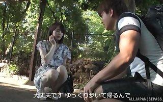 Suzumura Airi enjoys sucking stranger's dick like tomorrow never comes