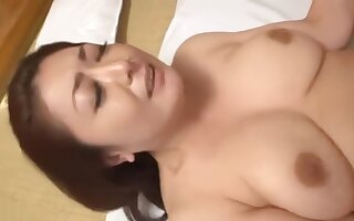 MURASAKI AYANO make love with her son and got a lot of creampie inside