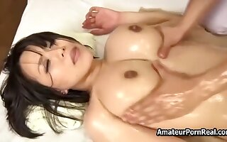 Aphrodisiac Japanese Oil Massage To Teen Girl