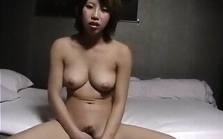 Japanese escort girl in service