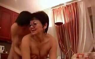 Fabulous Homemade video with Mature, Japanese scenes
