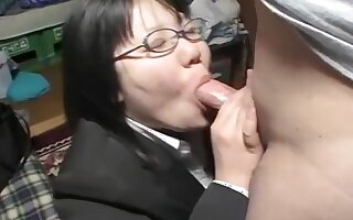 Incredible Amateur movie with Asian, Blowjob scenes