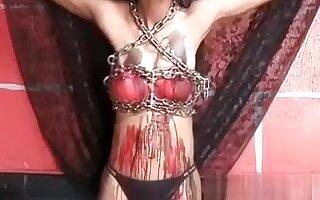 Asian slut Akira gets her beautiful tits
