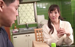 Video of handsome Japanese chick getting fucked balls deep